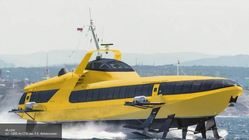 """В будущее на подводных крыльях: российские """"Циклоны"""" затмят советские """"Кометы"""""""