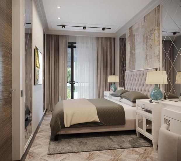 Фотография: Спальня в стиле Классический, Советы, Перепланировка, Марина Лаптева – фото на InMyRoom.ru