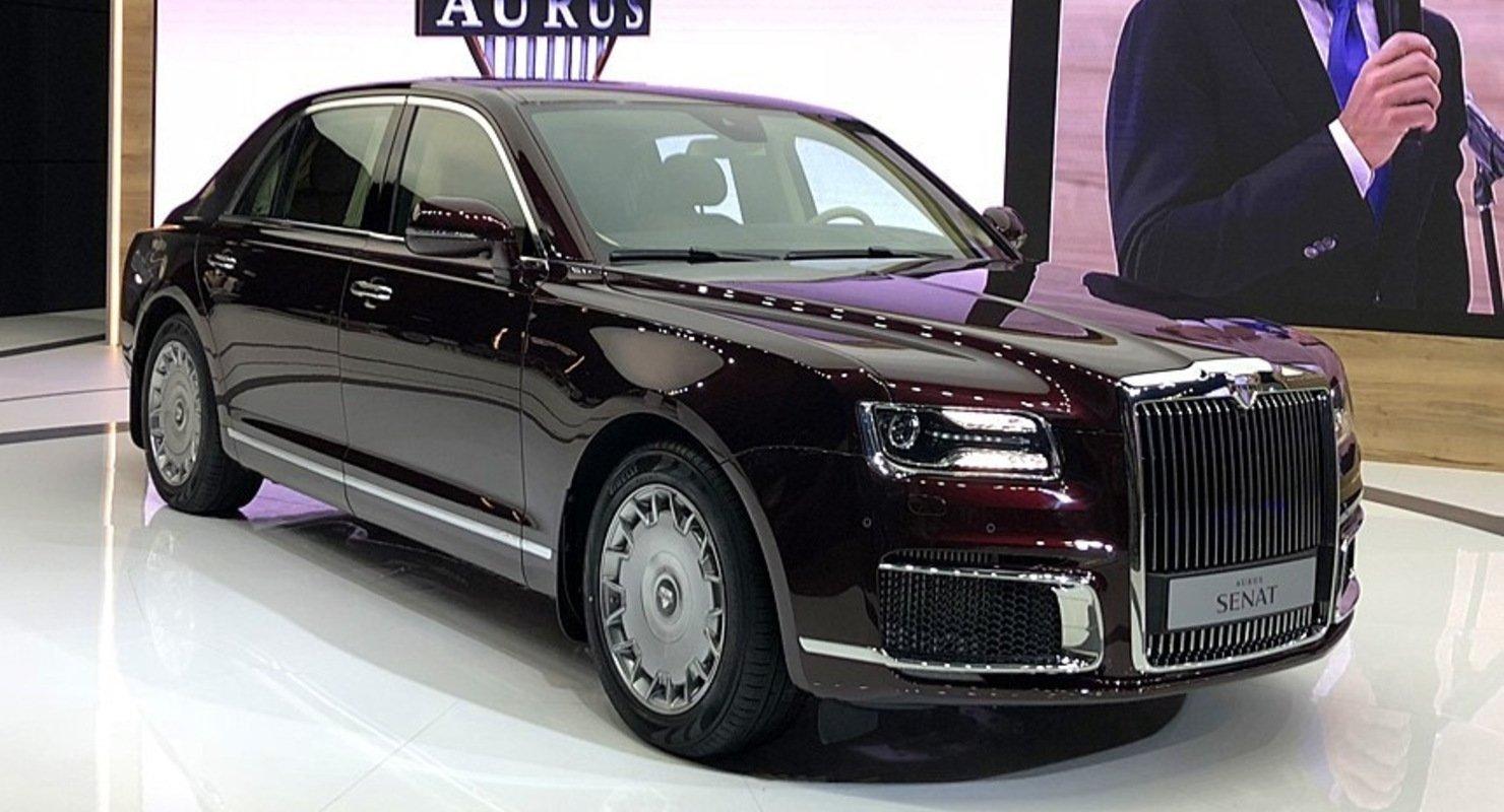 Aurus Senat — премиальные автомобили из России Автомобили