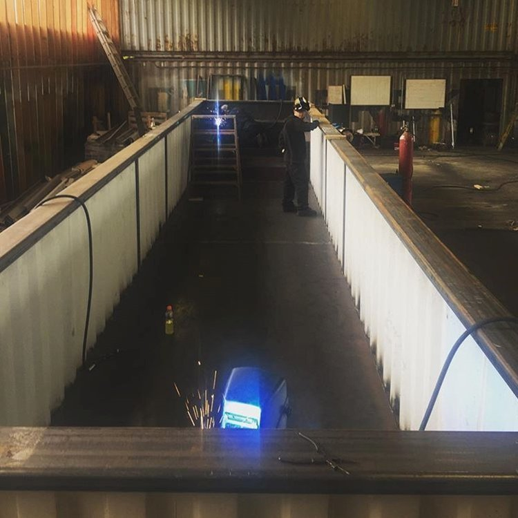 Бассейн из контейнера: 12 метров + джакузи бассейн из контейнера, моё, перевод с английского
