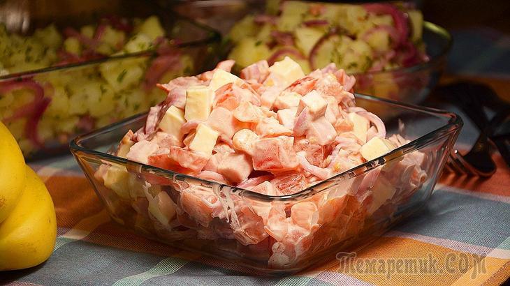 Настоящая находка! Сразу готовьте двойную порцию этого вкуснейшего салата!