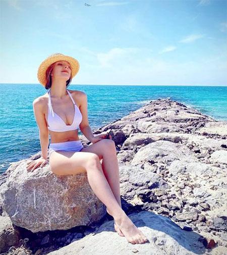 Узнай, если сможешь: Лиза Арзамасова и Илья Авербух отдыхают в Дубае Звезды,Звездные пары