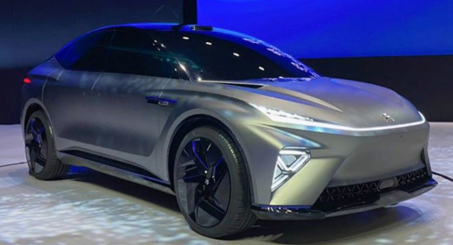 В Китае показали новейший электрокроссовер R-Tech ES33 Автоновинки