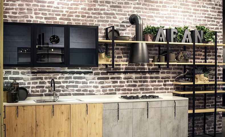Планировка кухни: интересные варианты дизайна мебели для маленькой кухни