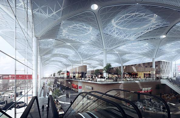 В Стамбуле открылся крупнейший в мире аэропорт