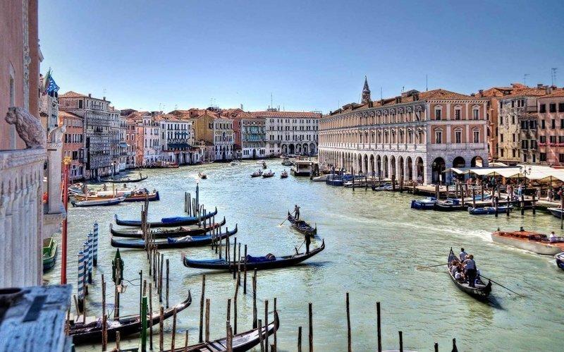 10. Венеция города, европа, красивые, самые
