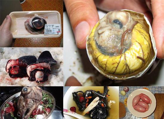 10 фактов о самых мерзких деликатесах в мире (11 фото)