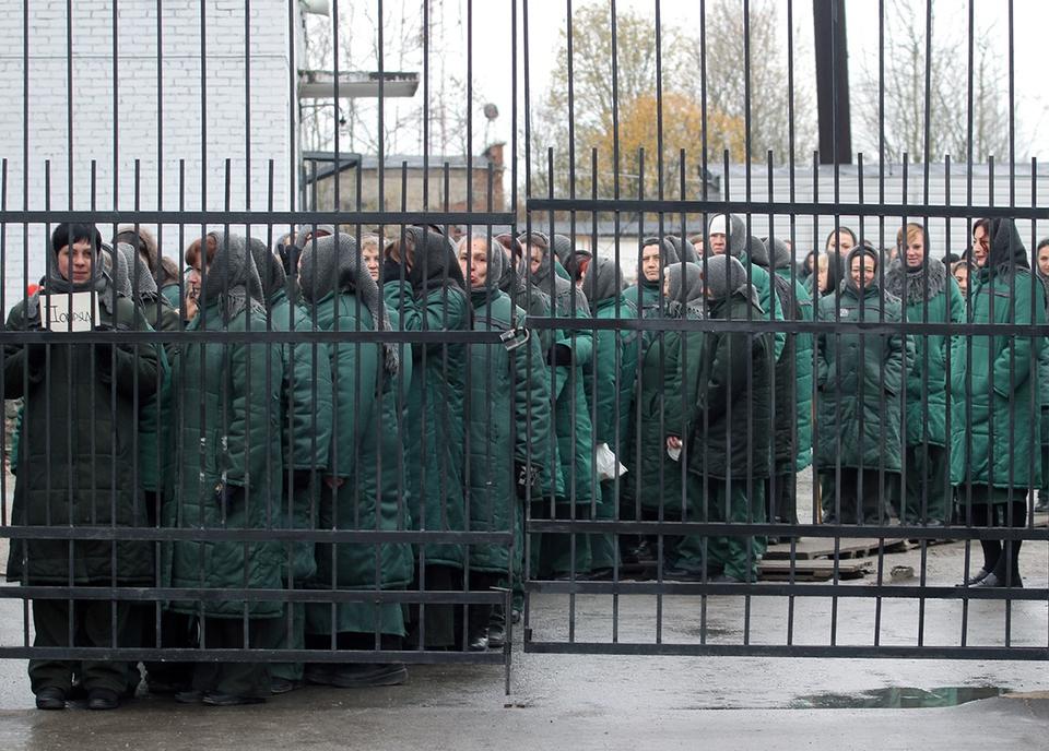 Осужденную в России украинку…