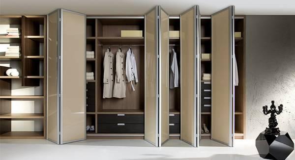 раздвижные двери в гардеробную комнату, фото 12