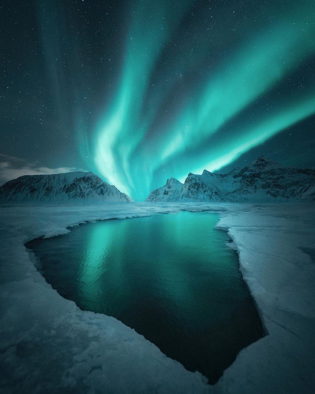 Космические фотографии Юлиуса Кехкенена, сделанные в разных местах планеты Земля тревел-фото,фотошоп