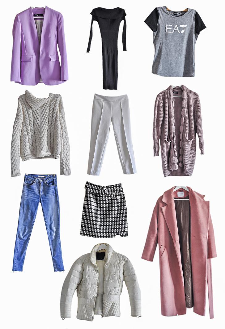 Как я собрала гардероб из 10 вещей и каждый день выглядела по-разному