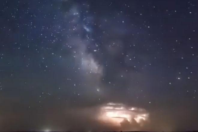 Мощные штормы на видео