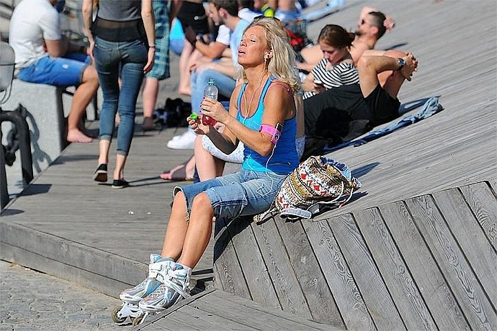 Самый жаркий день с начала лета ждет Москву в пятницу