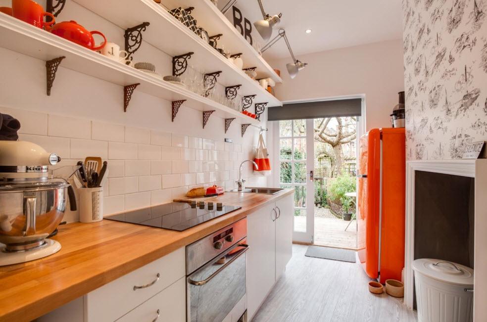 Яркий дизайн холодильника