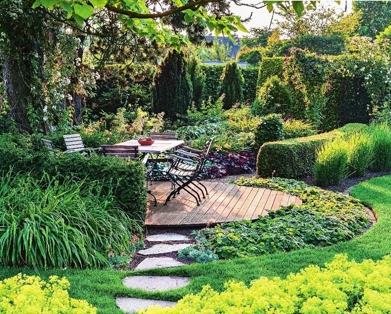 вот красивый сад для ленивых фото модели юбок можно