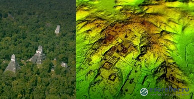 Мегаполис цивилизации майя с 60 000 строениями обнаружен в джунглях Гватемалы