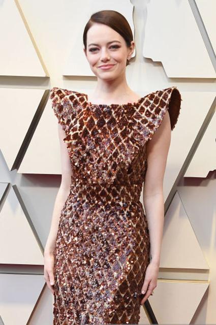 Оскар-2019: Эмма Стоун на красной дорожке Красная дорожка