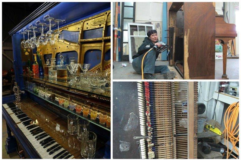 Не можете продать старое пианино? Только посмотрите, как его используют другие! Фабрика идей, переделки, пианино и рояли, своими руками