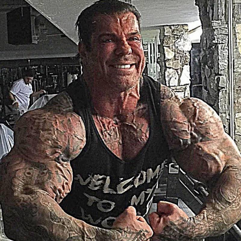 Рич Пиана— бодибилдер изСША, который принимал стероиды 29 лет интересное,интересные люди,интересные факты,история,увлечения,ужас,шок