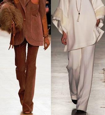 Модные женские брюки сезона осень-зима 2017-2018