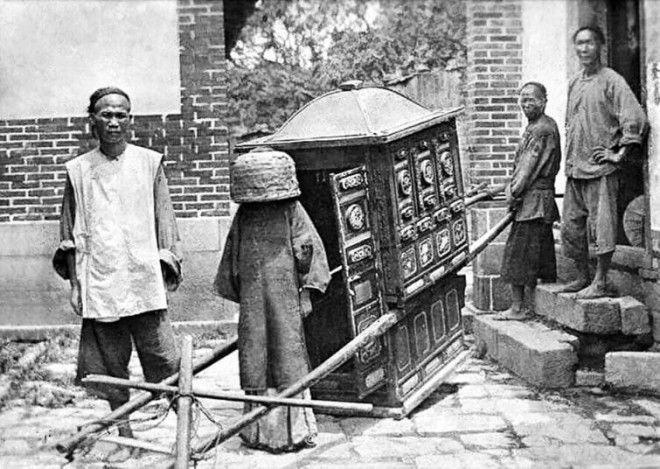 Юная невеста отправляется на свадьбу, Китай, 1912 год история, факты, фото