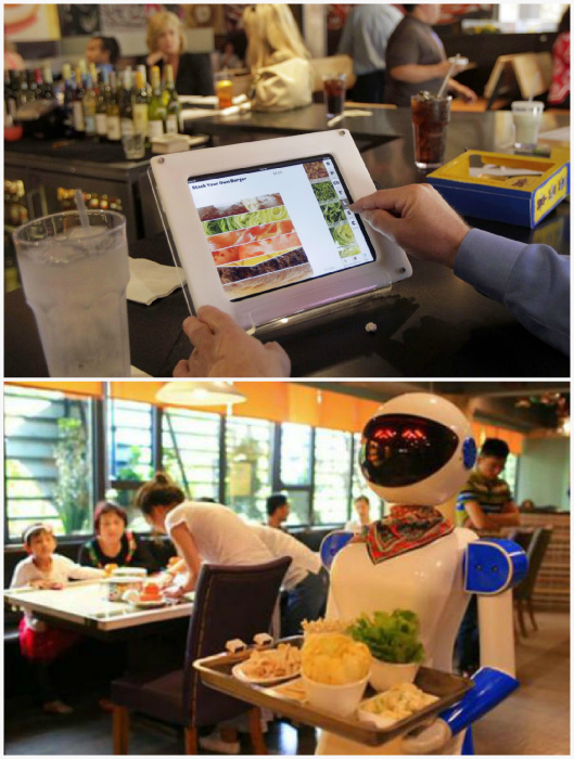 Рестораны без официантов| Фото: Hospitality Management, Your Keyword Basket.