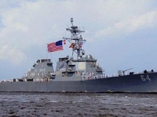 Повышая стабильность: боевой маневренный корабль США идет в Черное море