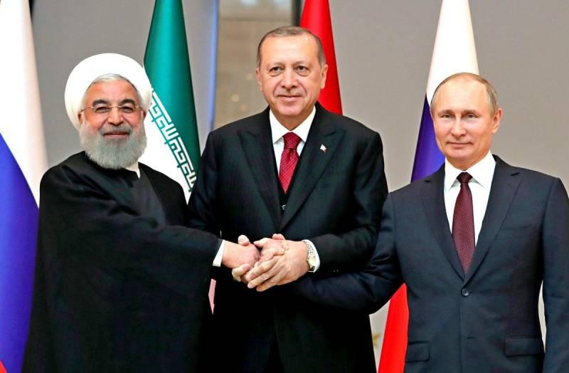 Эксперт: Связка Россия – Иран – Турция кардинально изменила мир