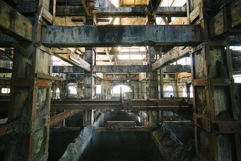 2. Вот что осталось от угольного завода во Франции бомбоубежище, заброшки, индастриал, интересно, фото