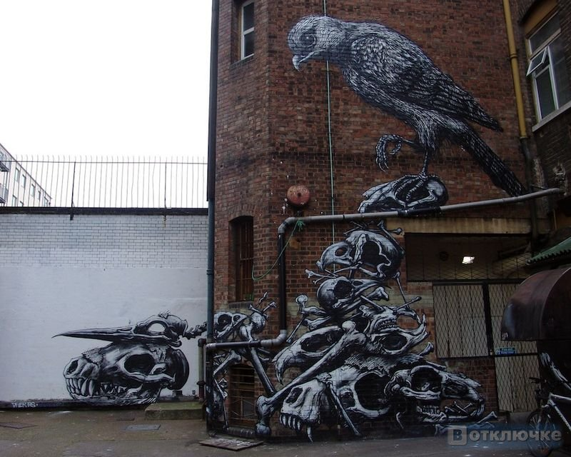 Стрит-арт.Лучшее за 2011 год.