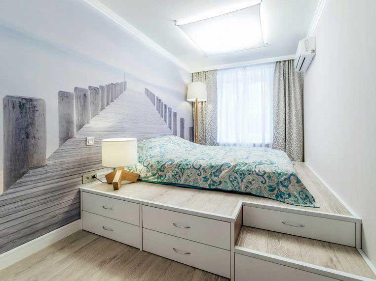 Функциональная идея для экономии места в маленьких квартирах интерьер,переделки,своими руками,сделай сам