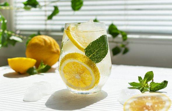 4 быстрых рецепта домашнего лимонада: с цитрусами, мятой, клюквой и зелёным чаем напитки