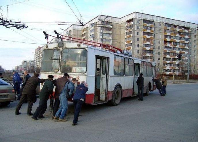 17 фотографий незабываемых поездок на общественном транспорте