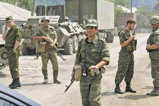 Югоосетинская армия становится частью Российской