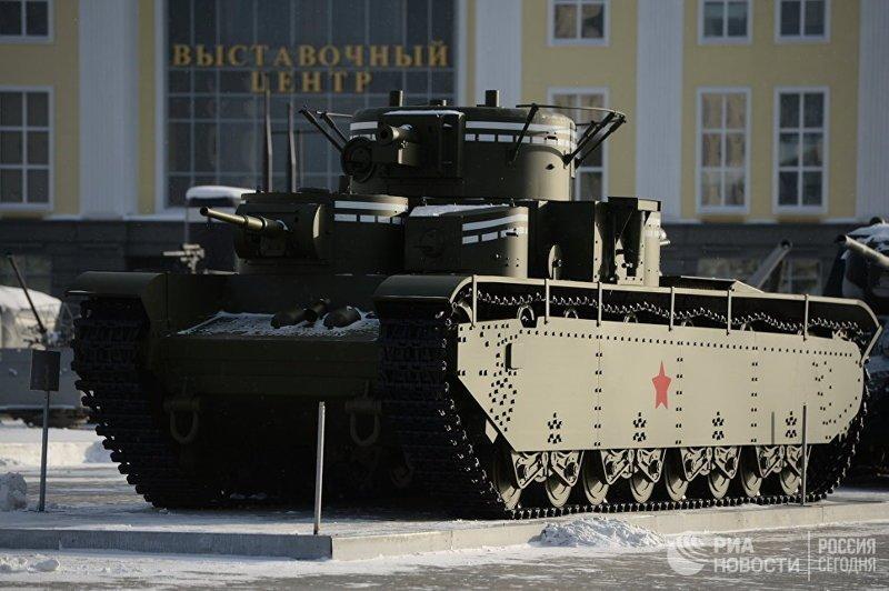 Самые странные танки мира