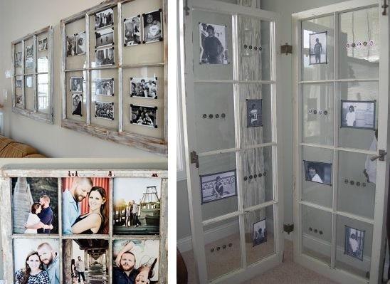 10 идей применения старых оконных рам декор,для дома и дачи,интерьер