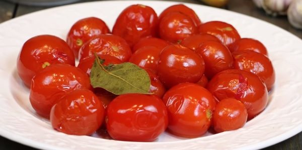 Сладкие маринованные помидоры - рецепты
