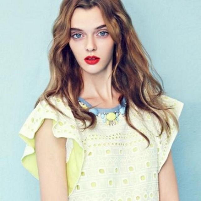 Экстраординарная внешность простой девушки из Украины