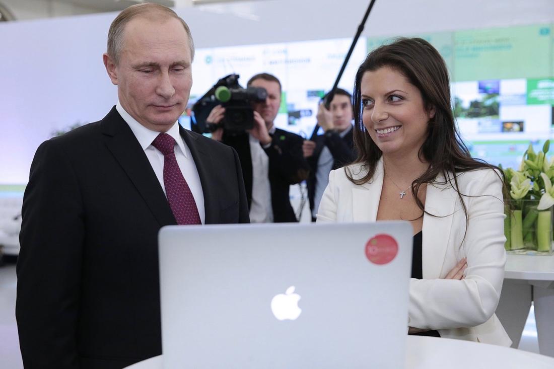 Именно эта женщина — некрасивая, абсолютно необаятельная представляет сегодня Россию в мировом медиа-пространстве. Лена Миро.