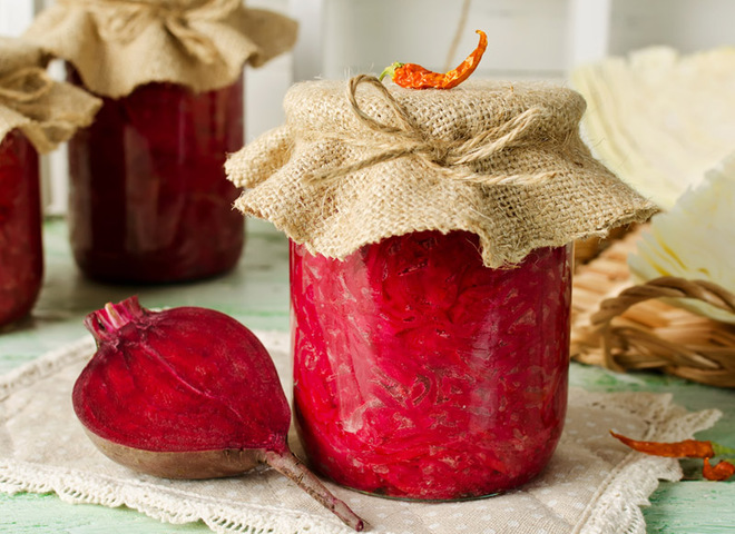 Свекла на зиму: рецепт в маринаде