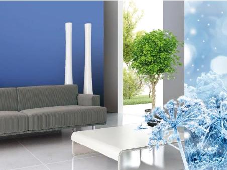 Зимние оттенки синего цвета