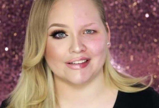 Макияж - это сила! 10 красавиц, которые накрасили только половину лица, чтобы это показать