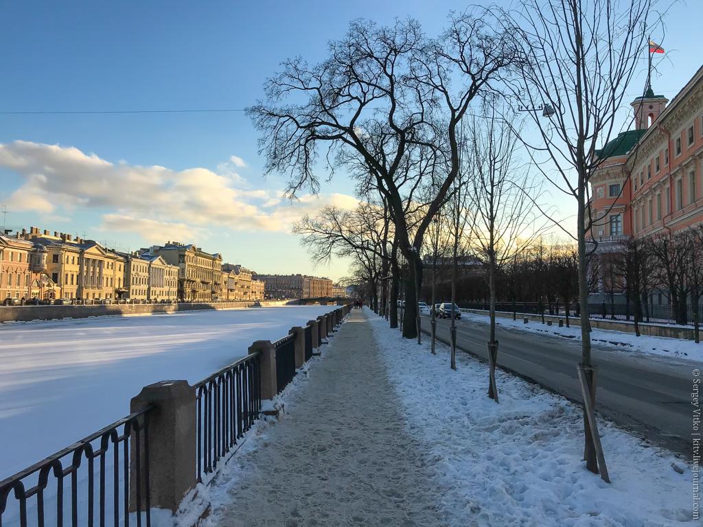 Красавец Питер: три дня зимы