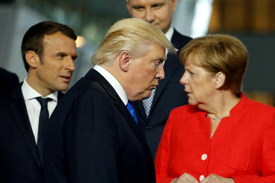 Трамп испортил отношения между США и Германией