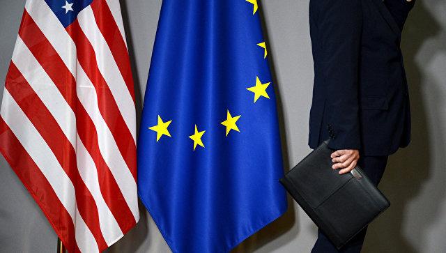 Европейцы считают новые санкции США неприемлемыми, показал опрос
