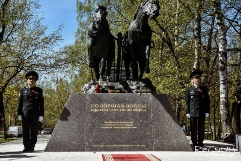 Монголия помогла Советскому …