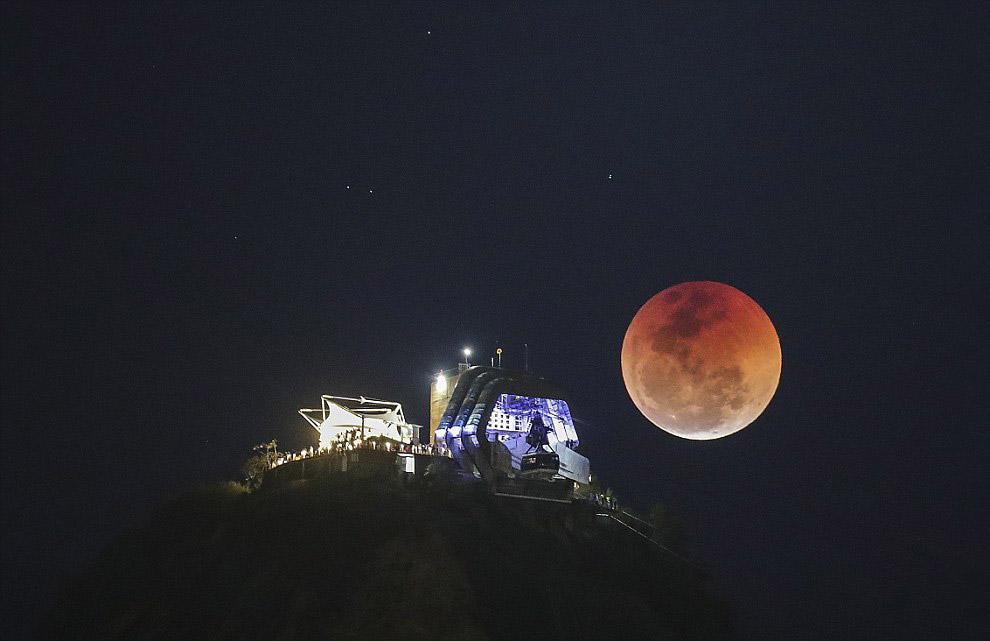 Лунное затмение 2018