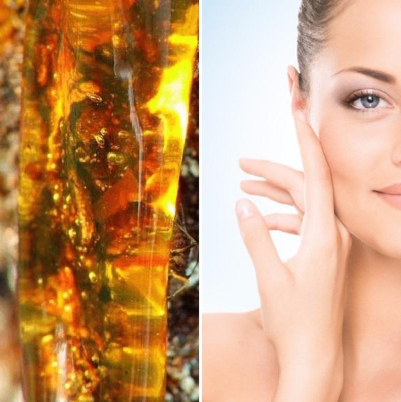 живица при заболеваниях кожи