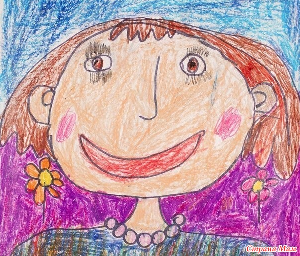 Сочинение ребенка на тему: «Как выглядит моя мама». P.S. — Папа плакал, и очень просил его не описывать…