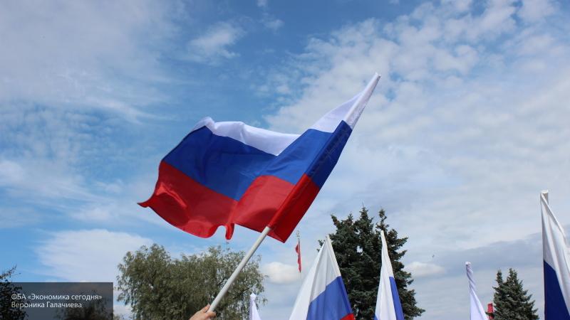 В Саранске полиция задержала девушек, которые сожгли российский флаг